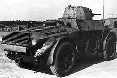 SPA Autoblinda AB 41  Italian   Armored Car   WW II