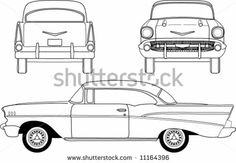 Fifties Coupe by Bigelow Illustrations, via Shutterstock