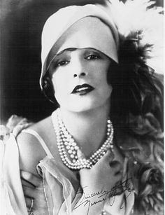 Norma Talmadge (1893-1957) She was one of the greatest stars of the silent era and a major box office draw. She was also involved in film productions with the Norma Talmadge Film Corporation. Her voice did not lend well to talking pictures and after a couple of disappointing films retired.