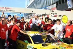 DTM Championship - Zandvoort - Mike Rockenfeller with Audi and OZ Racing wheels is the 2013 Driver Champion! #OZRACING