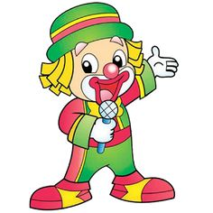 Funny Baby Clown Images Are Free To Copy For Your Personal Use. All Images Are On A Transparent Background Clown Images, Clown Crafts, Birthday Clown, Thankful Tree, Tangram, Cute Clown, Send In The Clowns, Clowning Around, Circus Theme