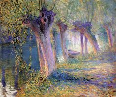 Untitled (also known as River Epte, Giverny) Guy Orlando Rose - circa 1910