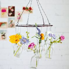 Flower chandelier | Decorating with Flowers |  RED magazine! Wow! Flowers on chair and on wall  Decorating with flowers | Blogs http://www.redonline.co.uk/red-women/blogs/decorate-with-flowers