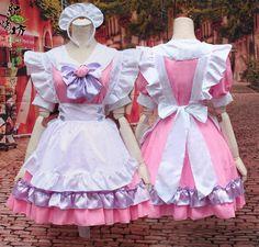 Pink Kitty Cat Kawaii Maid Dress SD00782 – SYNDROME - Cute Kawaii Harajuku Street Fashion Store Harajuku Fashion, Kawaii Fashion, Lolita Fashion, Cute Fashion, Fashion Outfits, Maid Outfit Cosplay, Cosplay Costumes, Maid Costumes, Street Style Store