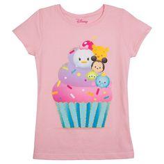 Girls' Disney® Tsum Tsum T-Shirt - Pink : Target