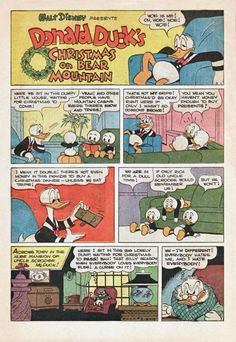 Golden Age Christmas – Christmas on Bear Mountain! | Comics Should Be Good! @ Comic Book Resources