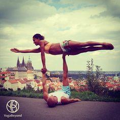 81 best partner yoga images in 2019  partner yoga yoga