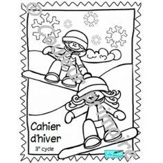Cahier d'activités de l'hiver et de la Saint-Valentin 3e cycle Cycle, Activities, Comics, Art, School Resources, Winter, Craft Art, Kunst, Comic Book