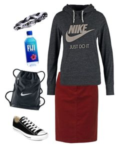 """""""Just chill"""" by lizardbeth95 ❤ liked on Polyvore featuring Gerry Weber Edition, NIKE, Converse and Under Armour"""