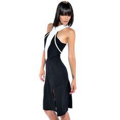 (9) Fab.com | Runway-Ready Dresses And Tops Sleeveless T-Back Dress Black $89  http://fab.com/2f5g7z