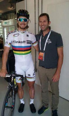 Peter Sagan before the Abu Dhabi Tour