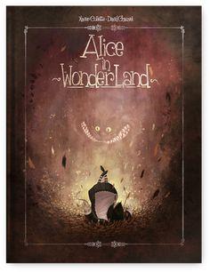 Alice in Wonderland art by Xavier Collette