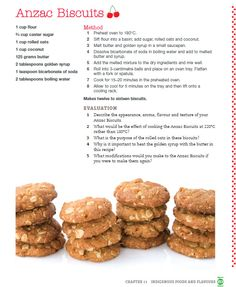 Anzac Biscuits Recipe for Anzac Day, 25 April