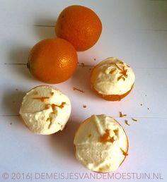 sinaasappelroomijs met oranjebloesemwater