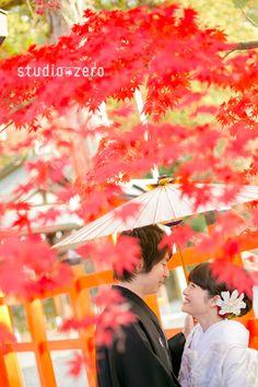 紅葉の京都ロケーション - 和装前撮り 14