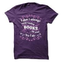Shirt with Text: ENJOY READING !!!