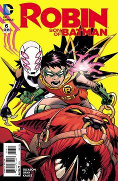 ROBIN SON OF BATMAN #6 DC Comics Comic Book Cover