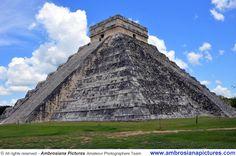 El Castillo - the Step Pyramid of Chichen Itza Dedicated to Kukulkan
