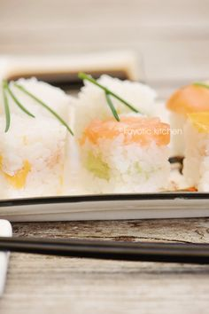 Cube It!  Sushi rice cube...