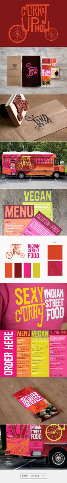 Curry Up Now Branding, Restaurant & Food Truck Design on Behance - created via https://pinthemall.net