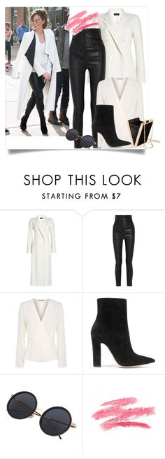 """Sundance Film Festival"" by ry08 ❤ liked on Polyvore featuring Joseph, Haider Ackermann, Elizabeth and James, Gianvito Rossi and H&M"