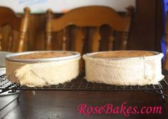 How to Bake Level Cakes - Baked