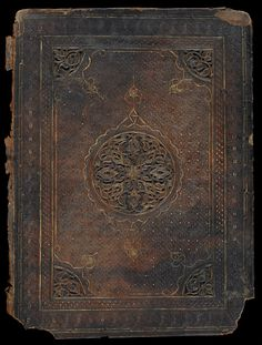 Book cover  14th-15th century Mamluk period Egypt or Syria