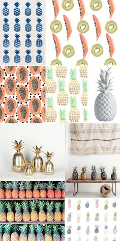 Trend Alert: Pineapples and other fruit prints