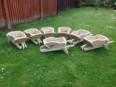 Mini wheelbarrows  nice size