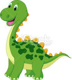 Illustration of Cute dinosaur cartoon vector art, clipart and stock vectors. Dinosaur Images, Dinosaur Pictures, Cartoon Dinosaur, Cute Dinosaur, Cartoon Images, Cute Cartoon, Dinosaur Tattoos, Dinosaur Crafts, Baby Dinosaurs