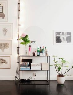 Mood Lighting with String Lights | Apartment Therapy