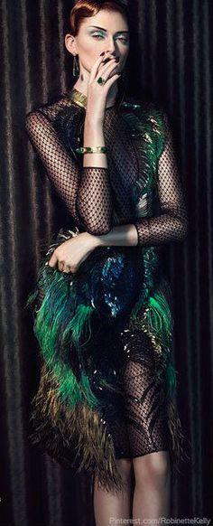 Harper's Bazaar | The House of Beccaria ♥ 。\|/ 。☆ ♥♥ »✿❤❤✿« ☆ ☆ ◦ ● ◦ ჱ ܓ ჱ ᴀ…