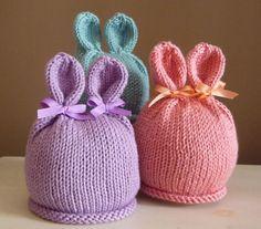 Bunny conejo sombrero foto Prop tejida a mano de Pascua infantil recién nacido gorro Halloween traje Animal