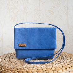 Everyday cross-body bag / casual bag / woman bag / blue color