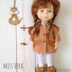 Vera Waldorf doll Waldorf inspired ooak art doll