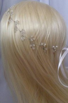 Bridal hair vine Bridal Jewelry Crystal hair vine Bridal