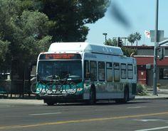 Bus bike rack (Phoenix, Arizona, USA)