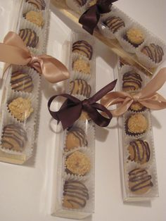 "Dog treat inspiration. Cute idea for ""truffles"""