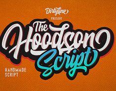 FREE FONT - HOODSON SCRIPT