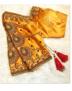 All Ethnic Customization with Hand Embroidery & beautiful Zardosi Art by Expert & Experienced Artist That reflect in Blouse , Lehenga & Sarees Designer creativity that will sunshine You & your Party Worldwide Delivery. Blouse Back Neck Designs, Netted Blouse Designs, Cutwork Blouse Designs, Pattu Saree Blouse Designs, Hand Work Blouse Design, Stylish Blouse Design, Fancy Blouse Designs, Bridal Blouse Designs, Dress Designs