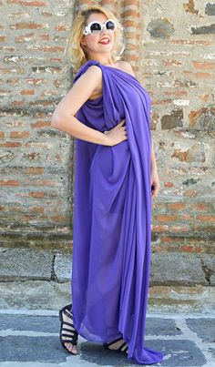 Check out this item in my Etsy shop https://www.etsy.com/listing/527709059/extravagant-purple-kaftan-loose-summer