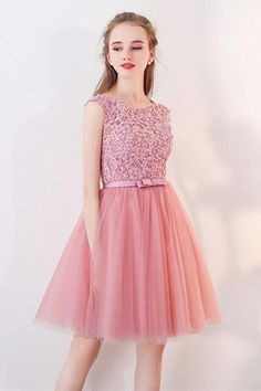 Homecoming Dresses With Appliques A-Line Homecoming Dresses Short Prom Dresses 2018 Prom Dresses Short Homecoming Dresses Dresses Elegant, Sexy Dresses, Cute Dresses, Fashion Dresses, Flower Girl Dresses, Formal Dresses, Short Dresses For Girls, Luulla Dresses, Romantic Dresses
