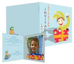 Sorpresa, sorpresa - #invitaciones de #cumpleaños infantiles