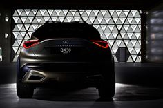 Here's the new Infiniti – the rival of BMW and Mercedes-Benz GLA! Diesel, 2015 Infiniti, Luxury Crossovers, Suv Models, The Rival, Nissan Juke, Ad Car, Geneva Motor Show, Latest Cars