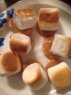 Mmmmm my favorite snack! Very simple to make Ritz crackers, peanut butter, Marshmellows and pop into the oven for 3-5 min. done! Very delish!