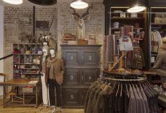 Hackett Spitalfields store