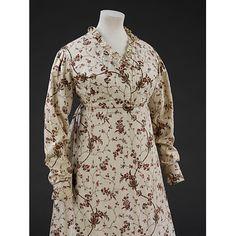 Gown 1799, British, Made of silk (Grecian Regency)