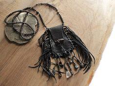'Wisdom Keeper' medicine pouch www.miailluzia.com