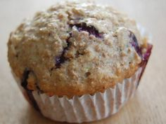 Whole Grain Blueberry-Ful Muffins