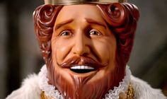 """When did #BurgerKing's """"The #King"""" first make its appearance?"""
